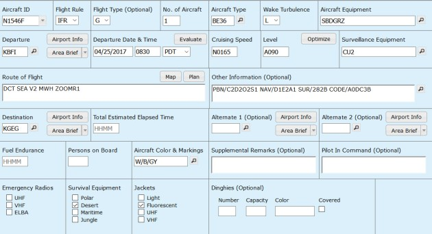 ICAO-FlightPlan-Form-Example