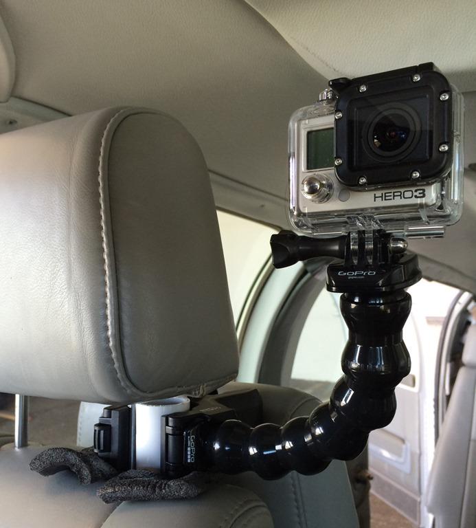 another go pro camera mounting option bruceair llc. Black Bedroom Furniture Sets. Home Design Ideas