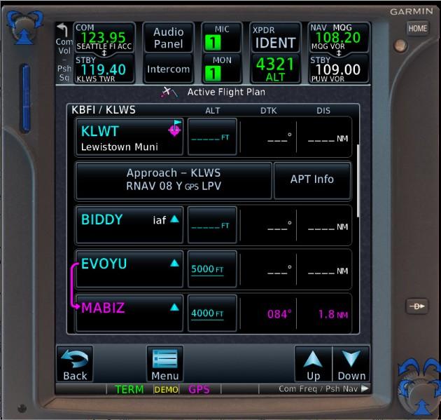 GTN750-KLWS-RNAV08-FltPlan-01